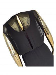 Black thrift dress